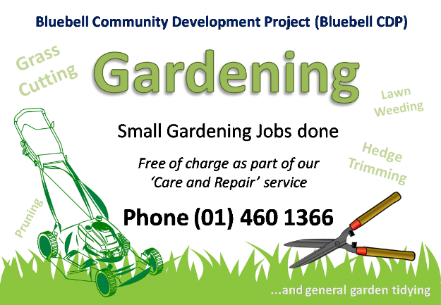 Bluebell CDP Care and Repair / Gardening